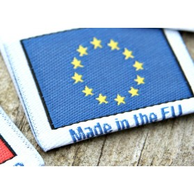 """Etiketter """"Made in Europe"""""""